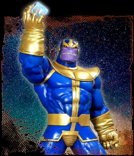 Marvel Premier Collection Thanos Resin Statue