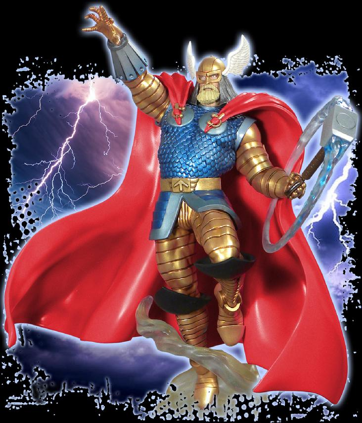 Marvel Premier Collection Armored THOR Resin Statue